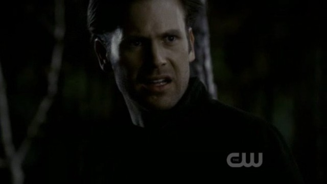 The Vampire Diaries S3x20 - Alaric after waking up from transformation not knowing what the heck happened to him