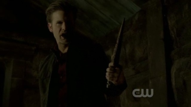 The Vampire Diaries 3x20 - Alaric, the ripper of original vampires is born