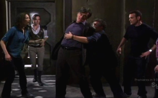 Warehouse 13 S2x01 - Pete Myka MacPherson and Wells
