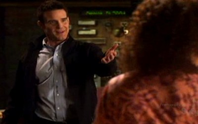 Warehouse 13 S2x01 - Pete upset about Claudia