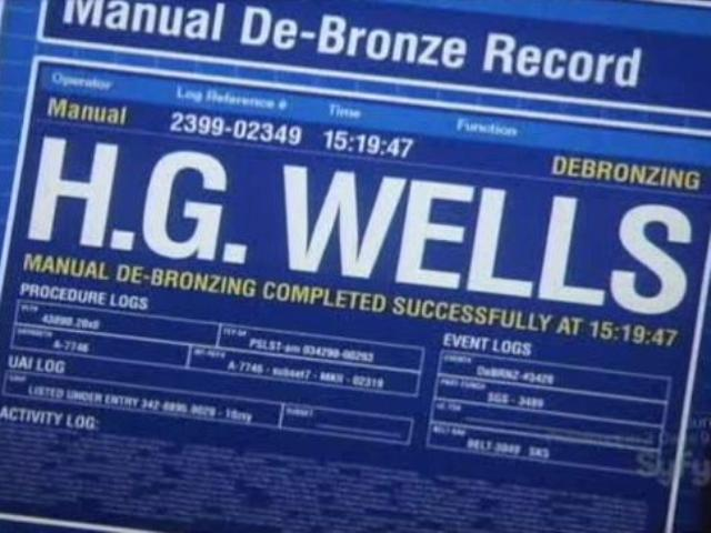 Warehouse 13: Time Will Tell with H.G. Wells!