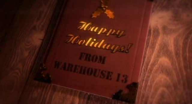 Warehouse 13 S3x13 - Happy Holidays end title