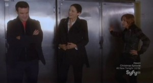 Warehouse 13 S3x13 - Saved by lockers