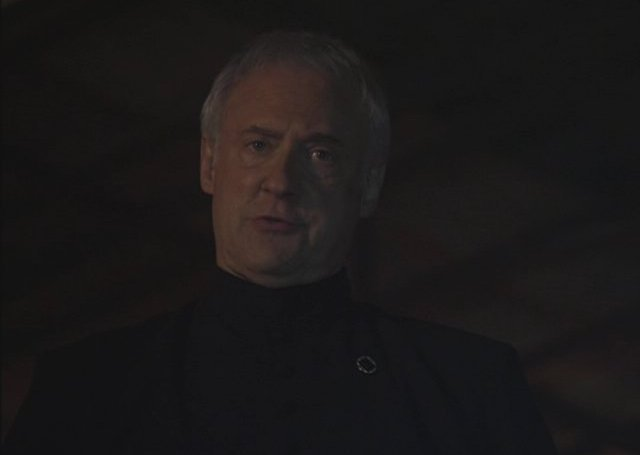 Warehouse 13 S4x01 - Brent Spiner as the enigmatic Brother Adrian