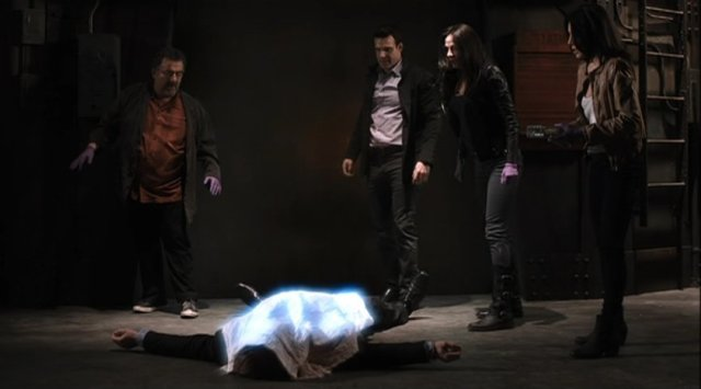 Warehouse 13 S4x01 - The evil is removed from Walter Sykes soul