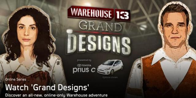 Warehouse 13 - banner - webisodes - Click to learn more at Syfy!