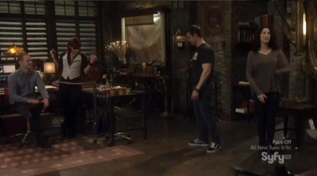 Warehouse 13: &#8220;Fractures&#8221; or Mirror, Mirror on the Wall?