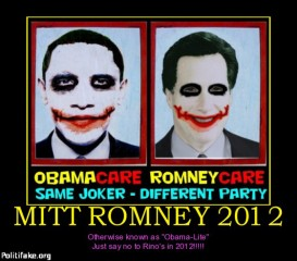 Obama versus Romney - ACA satire