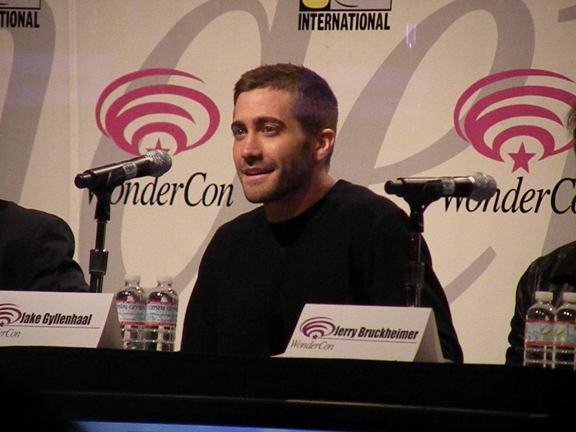 Jake Gyllenhaal at WonderCon 2010!