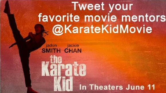 Karate Kid Title Screen