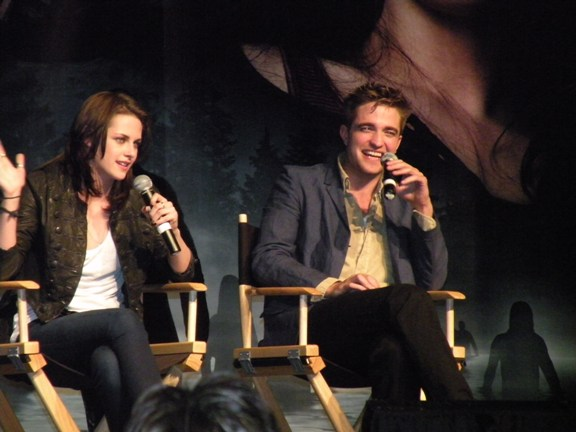 Kristen and Rob