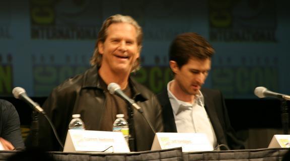 2010 Comic-Con Tron Legacy Jeff-Bridges Michael Sheen