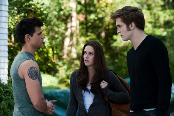 Jacob, Bella and Edward