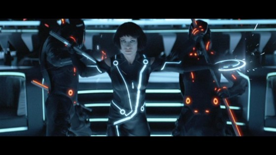 Can Olivia Wilde help stop the MCP in TRON Legacy!