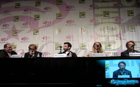 WonderCon: The Sorcerers Apprentice Panel with Extended Trailers!