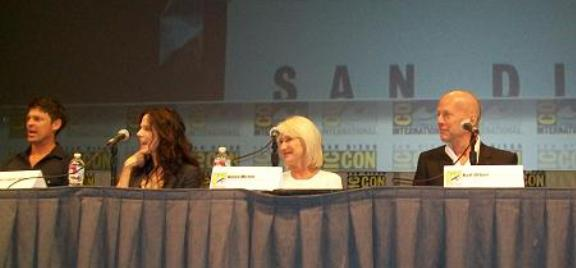 Summit Entertainment RED Panel at Comic-Con!