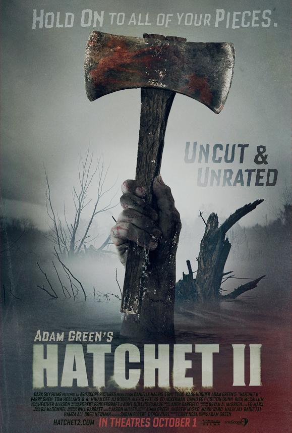 Hatchet II New Poster!