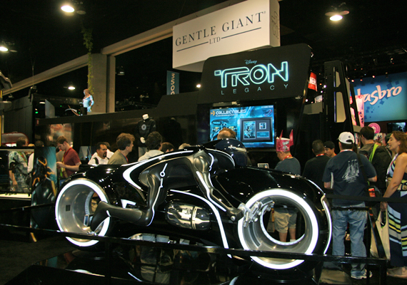 Tron vehicle