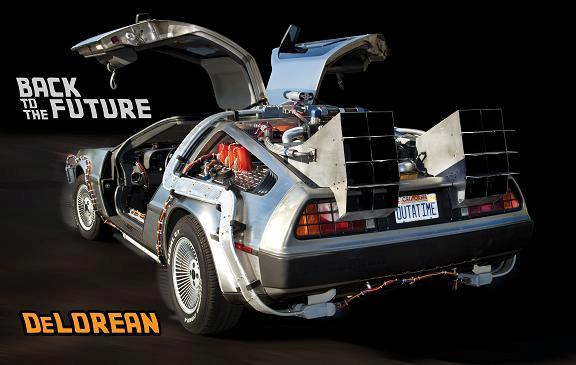 Most technically accurate reproduction DeLorean Time Machine