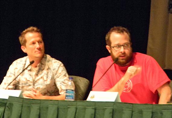 Corin Nemec and Martin Gero