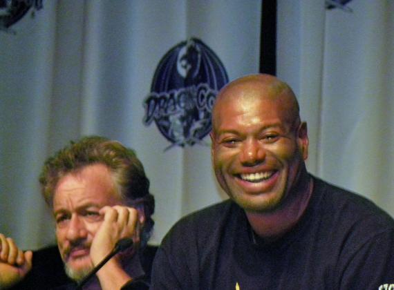 John de Lancie and Chris Judge
