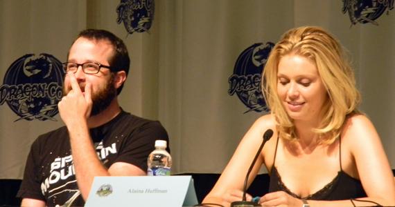 Martin Gero and Alaina Huffman