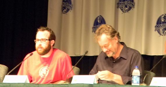 Martin Gero and John de Lancie