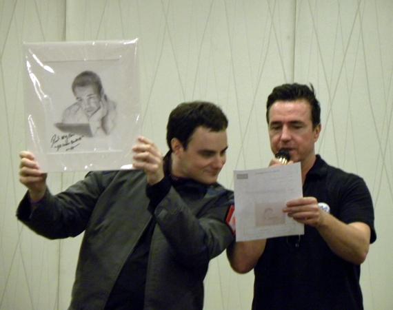 "SGM Track ""McKay"" (Nick) and Paul McGillion"