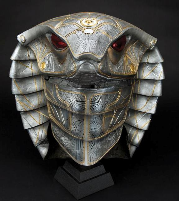 Teal'c Serpent Helmet from Stargate SG-1