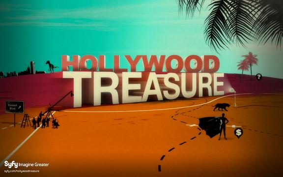 Click to learn more about SyFy's Hollywood Treasure!