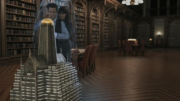 Sanctuary S3x06 Animus – Not the only genius in the room…
