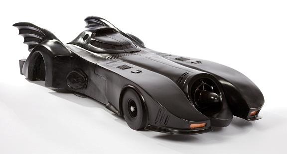 1/4 scale Batmobile miniature from Batman Returns