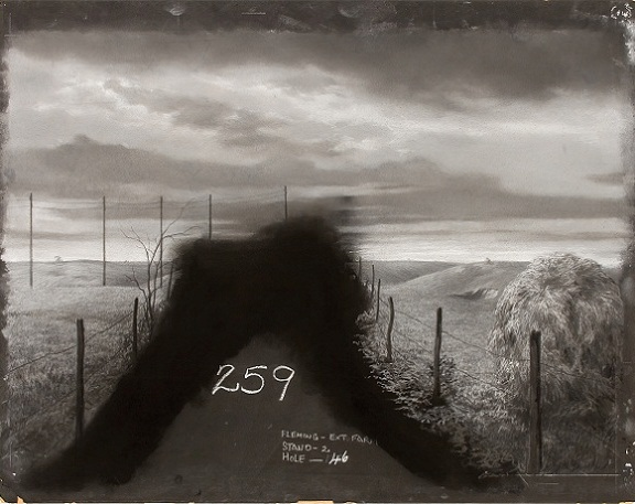 Original matte painting opening scene The Wizard of Oz
