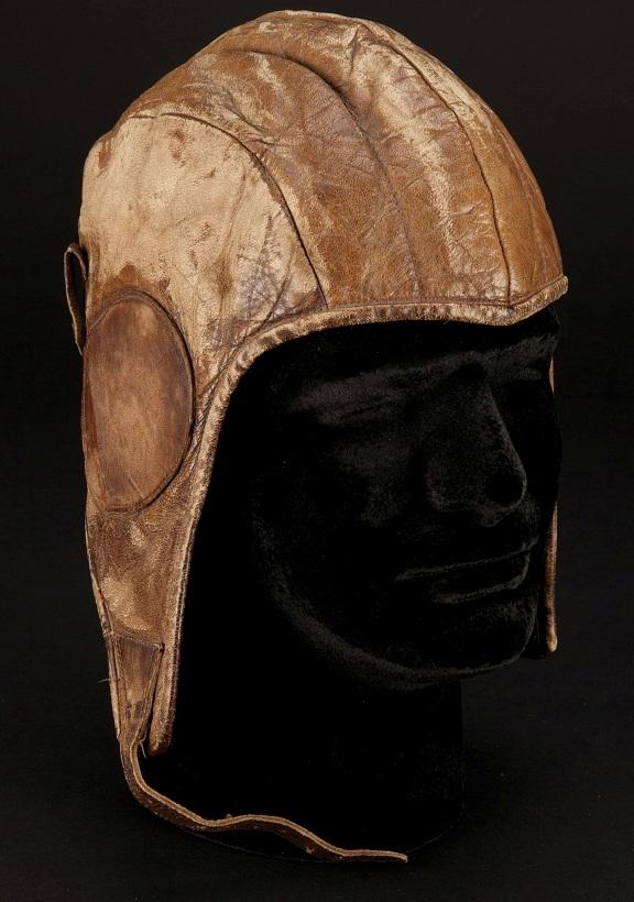 James Stewart Charles Lindbergh Spirit of St Louis helmet