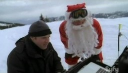 Visit Ice Quake and Santa on SyFy Dot Com!