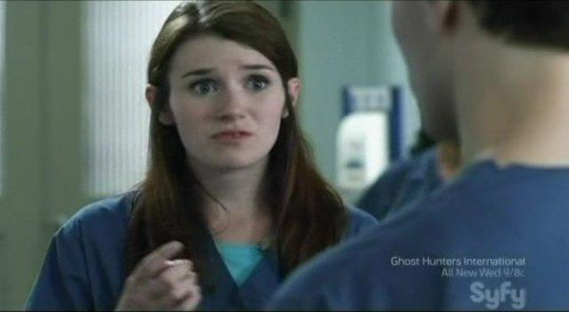 Being Human S1x01 Pilot- Cara the nurse at work!