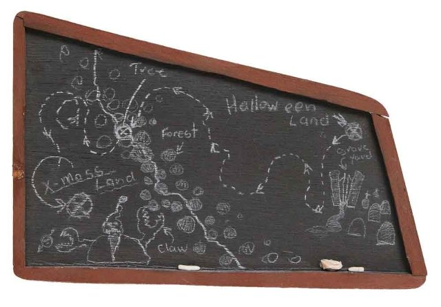 Nightmare Before Christmas black board