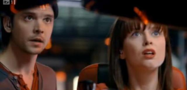 Primeval S4x03 - Conner and Jess shocked!