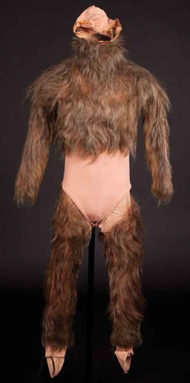 Scott Howard hairy bodysuit from Teen Wolf