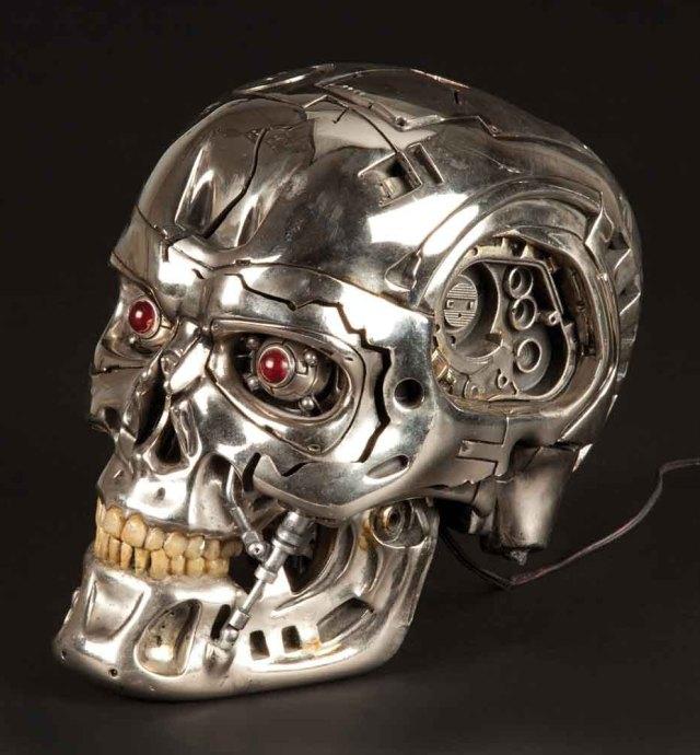 Profiles in History Terminator Endo Skull