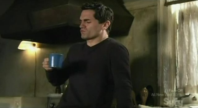 Being Human S1x04 -Aidan and a cup of blood