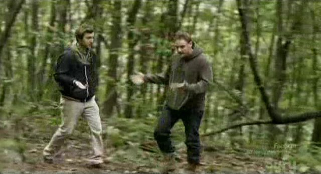 Being Human S1x04 -Back in the forest - Shrugs