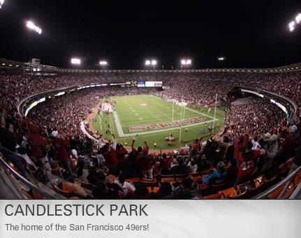 Click to learn more about Candlestick Park San Francisco!