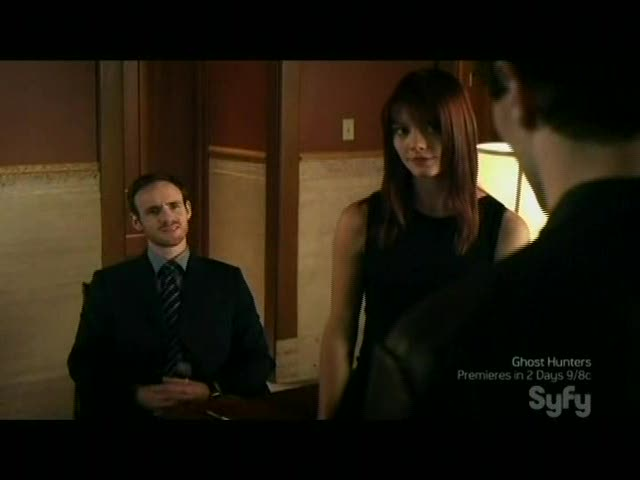 Aidan meets with Marcus and Rebecca