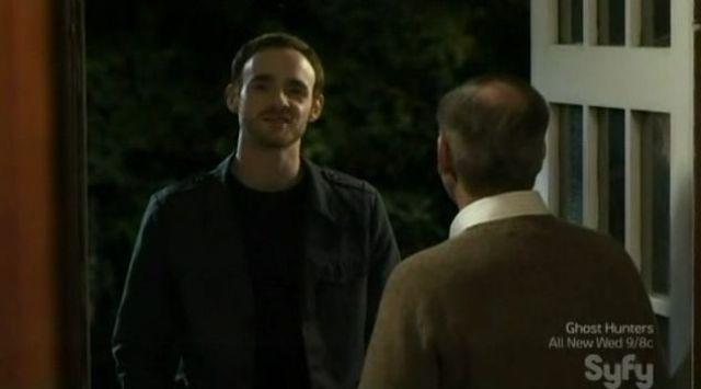 Marcus at the door