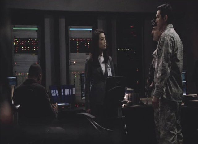 SGU S2x13 - Camile and Col. Telford Home World Command