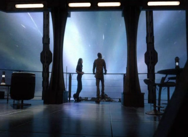 SGU S2x13 - Camile and Greer on the observation deck