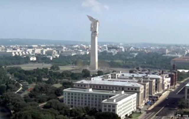 The Event S01x15 Washington Monument crumbles