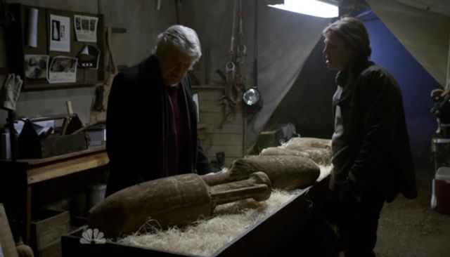 The Event S01x15 Dempsey loves the artifacts
