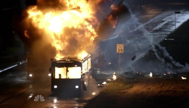 The Event S01x15 Bus Fire